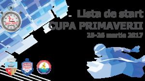 Lista de start CUPA PRIMAVERII editia 3